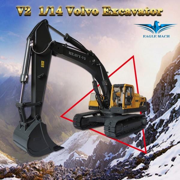 1/14 RC Hydraulic Earth Digger 360L