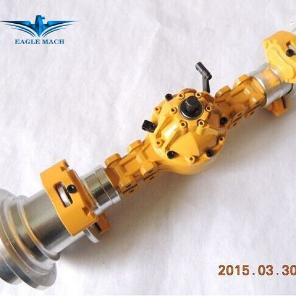 Front Axle For 1/14 Wheel Loader 870K Version 2