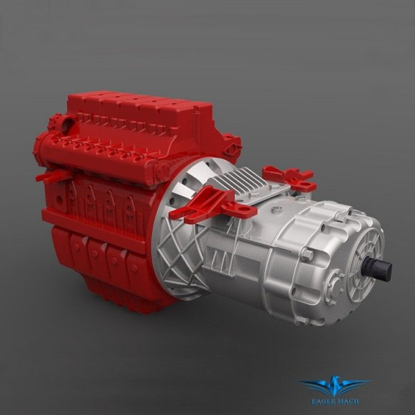 Model Continuously Variable Transmission Gearbox
