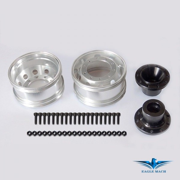 Front Wide Wheel For Tamiya Truck-Bearing Type