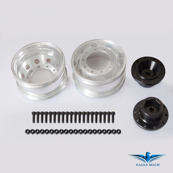 Front Wide Wheel For Tamiya Truck-Hex Type