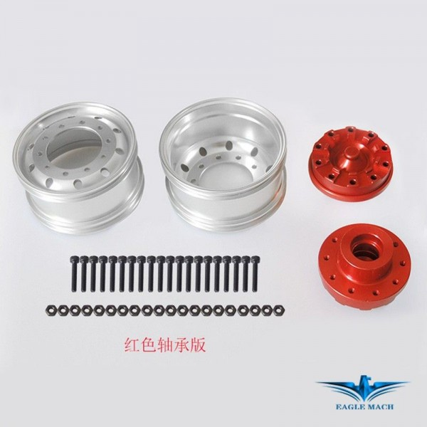 Front Wide Wheel For Tamiya Truck-S Version Bearing