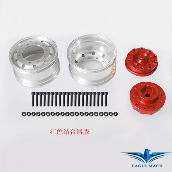 Front Wide Wheel For Tamiya Truck-S Version Hex