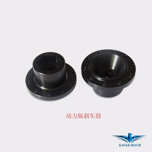 Dynamic Hex Adaptor For Metal Front Wheels