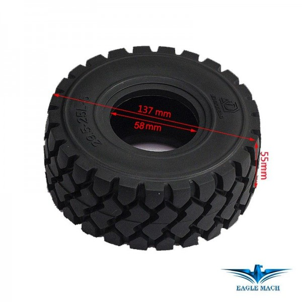 Tyre For 1/14 Wheel Loader 870K