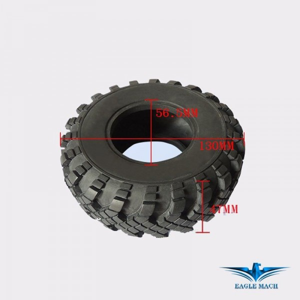 Tyre For 1/14 MAZ537 Military Truck