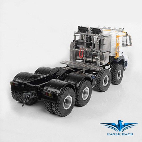 Rear Wheels For 1/14 Heavy Hauler 8x8