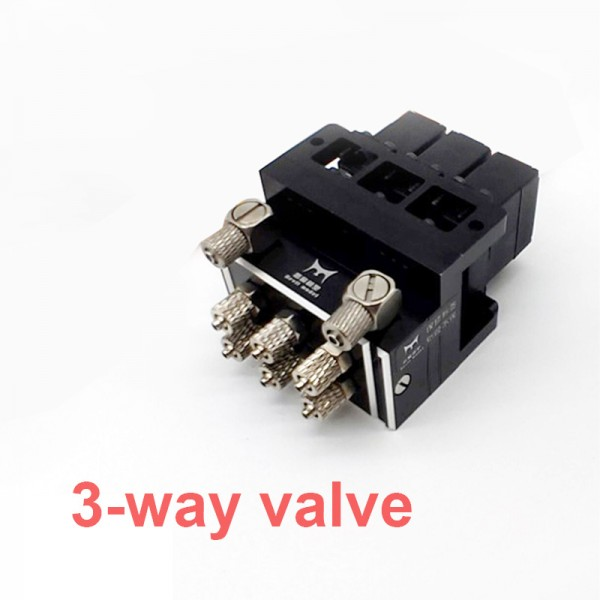 2CH/3CH/4CH/5CH/6CH/7CH Hydraulic Oil Valve Controller With Servo For 1/12 RC Excavator Bulldozer Parts