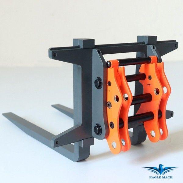 Fork Set For 1/14 Wheel Loader 870K
